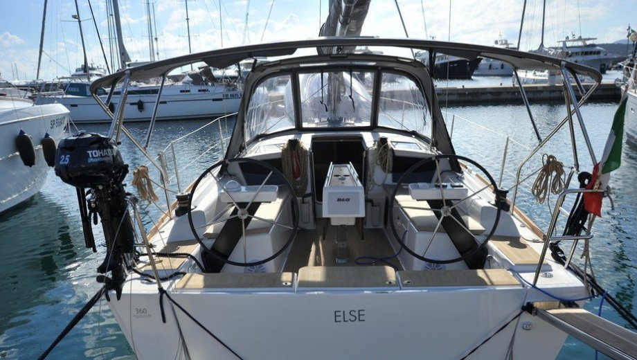 "Dufour 360 GL in Portisco ""Else"""