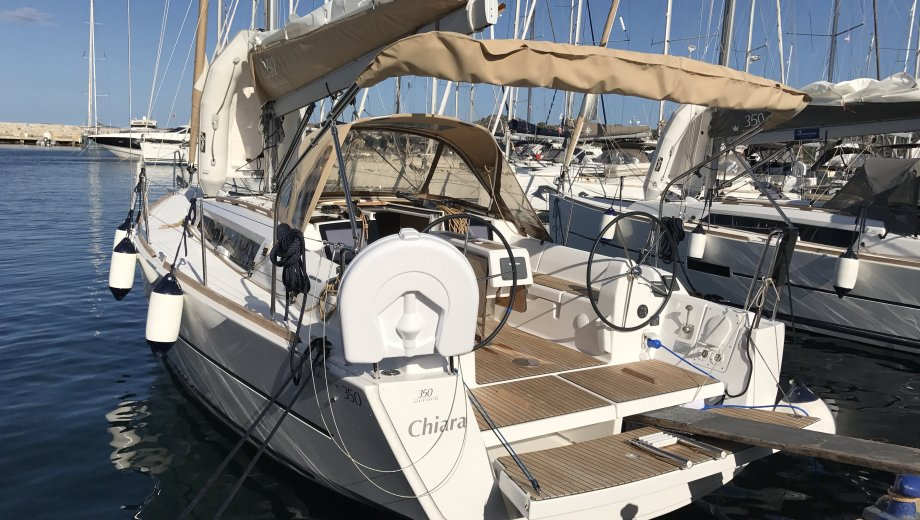 "Dufour 350 GL in Portisco ""Chiara"""
