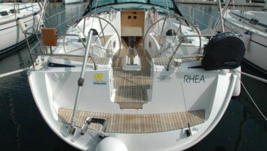 "Bavaria 43 cruiser in Portisco ""Rhea"""