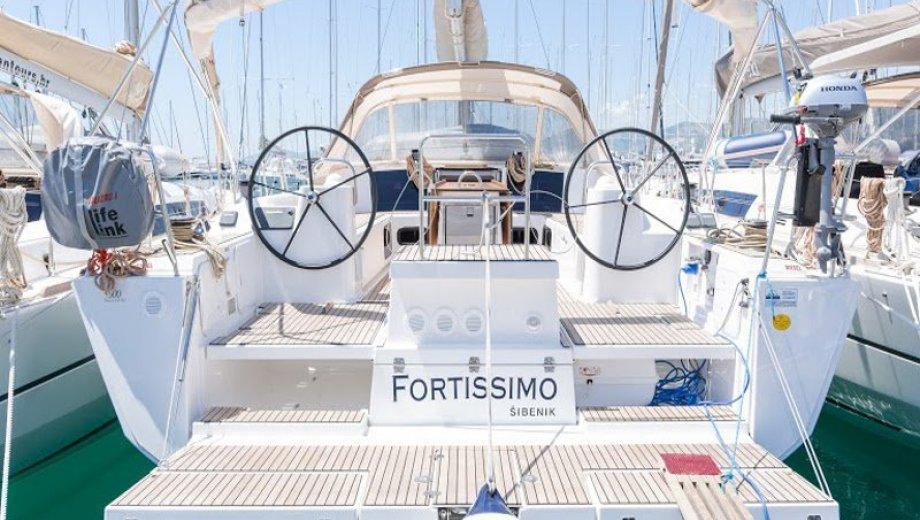 """Dufour 500 GL in Kaštela """"Fortissimo"""""""