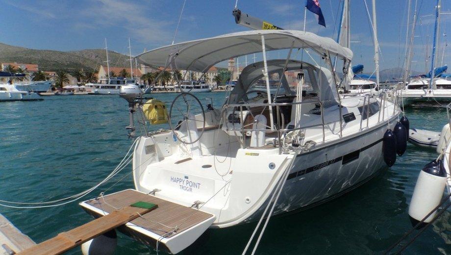 "Bavaria cruiser 37 in Trogir ""Happy Point"""