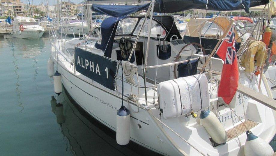 "Sun Odyssey 35 in Alcudia ""Alpha I"""