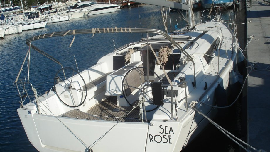 "Dufour 410 in Kaštela ""Sea Rose"""