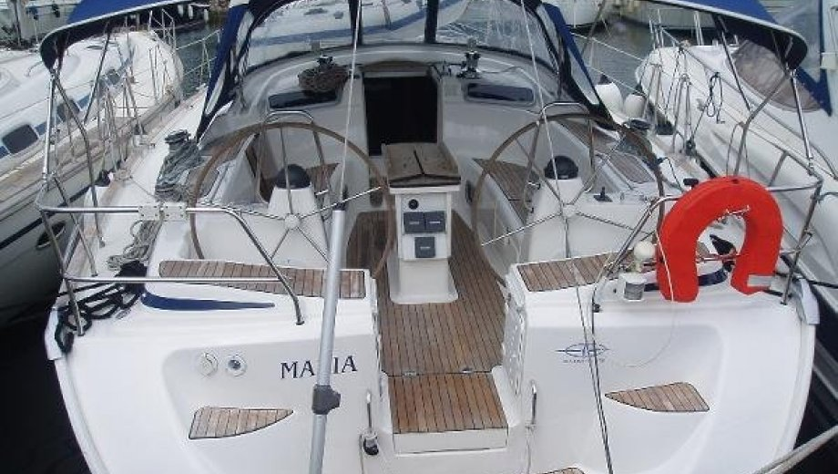 "Bavaria 50 cruiser in Athen ""Maria"""