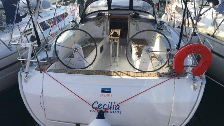 """Bavaria cruiser 41 in Lavrion """"Cecilia"""""""