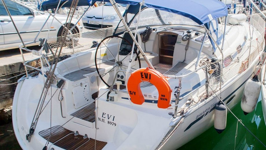 "Bavaria 39 cruiser in Athen ""Evi"""