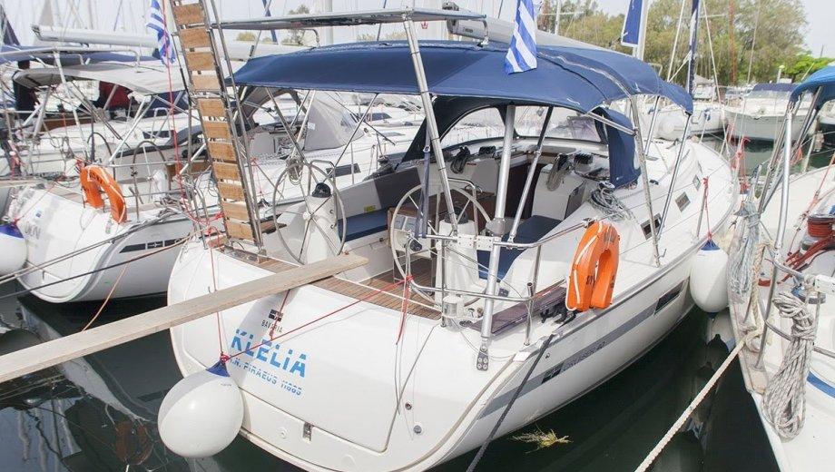 """Bavaria cruiser 40 in Athen """"Klelia"""""""