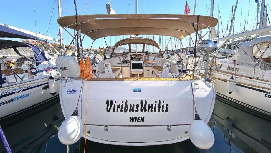 """Bavaria cruiser 46 in Pula """"Viribus Unitis"""""""