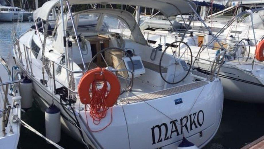 """Bavaria cruiser 37 in Pula """"Marko"""""""