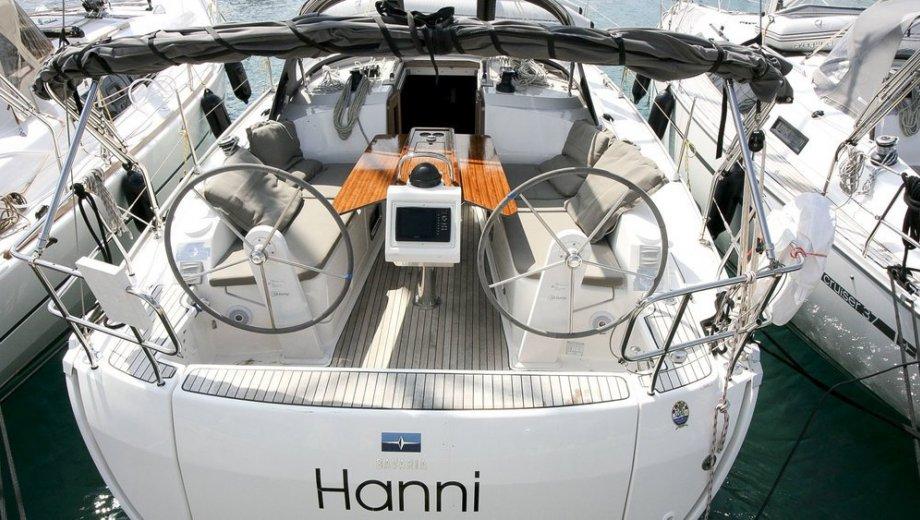 """Bavaria cruiser 37 in Primosten """"Hanni"""""""