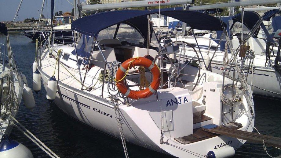 """Elan 333 in Zadar """"Anja"""""""