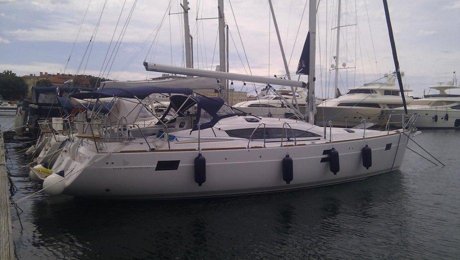 """Elan 444 in Zadar """"Mili Mili"""""""