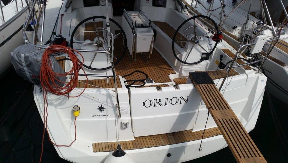 """Sun Odyssey 379 in Sukošan """"Orion"""""""