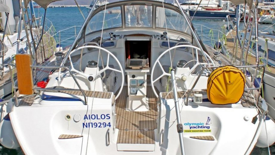 "Bavaria 46 cruiser in Lavrion ""Aiolos"""