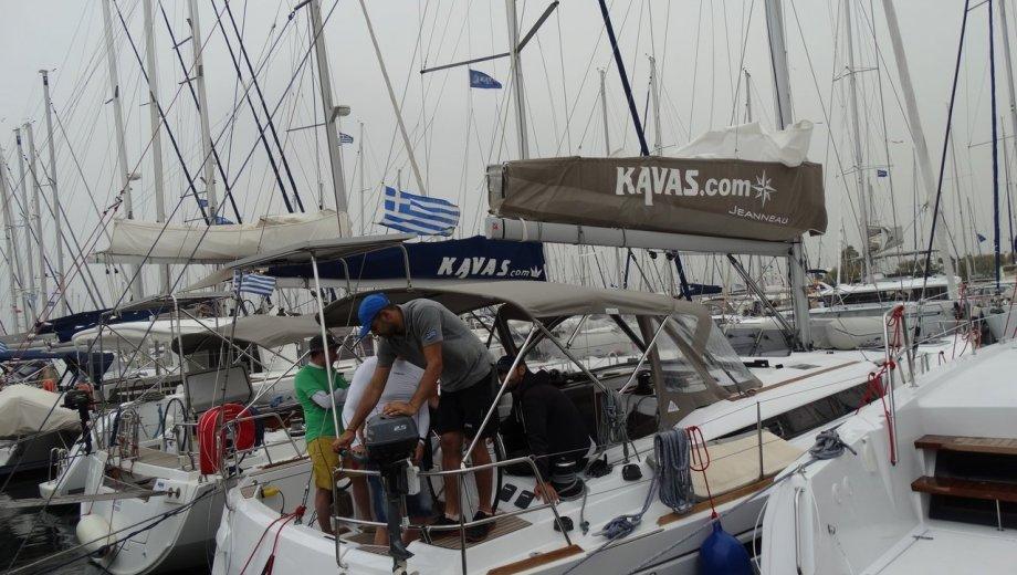 Sun Odyssey 479 in Athen