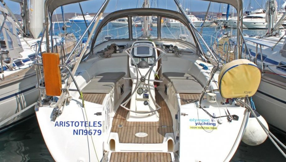 "Bavaria 38 cruiser in Lavrion ""Aristoteles"""