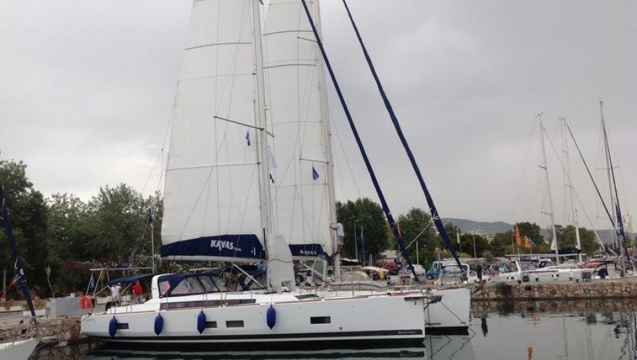 Océanis 55 in Athen