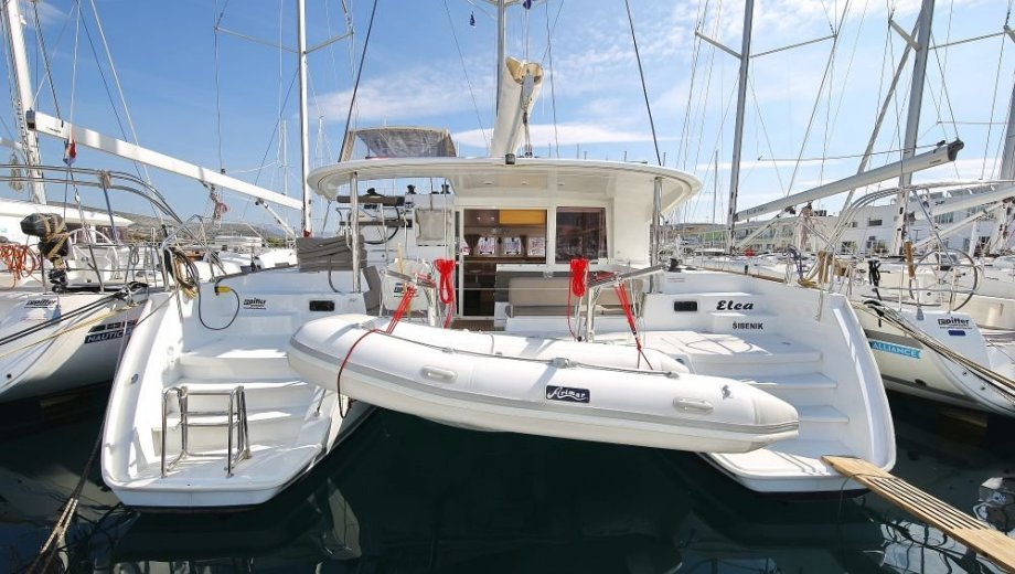 "Lagoon 400 s2 in Trogir ""ELEA"""