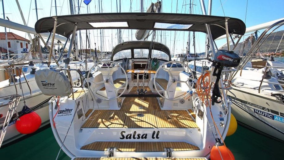 """Bavaria cruiser 41S in Trogir """"Salsa II"""""""