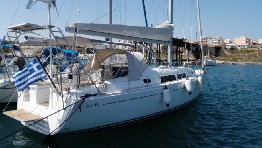 "Hanse 370 in Lavrion ""Sea Horse"""