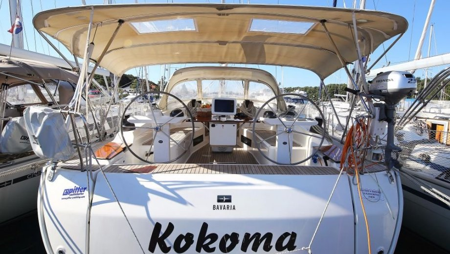 "Bavaria cruiser 45 in Pula ""Kokoma"""