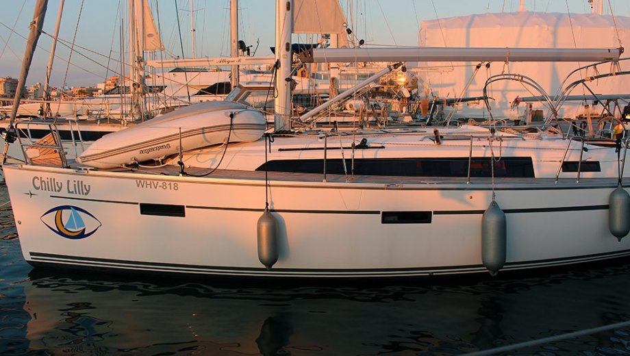 """Bavaria cruiser 37 in Palma """"Chilly Lilly"""""""