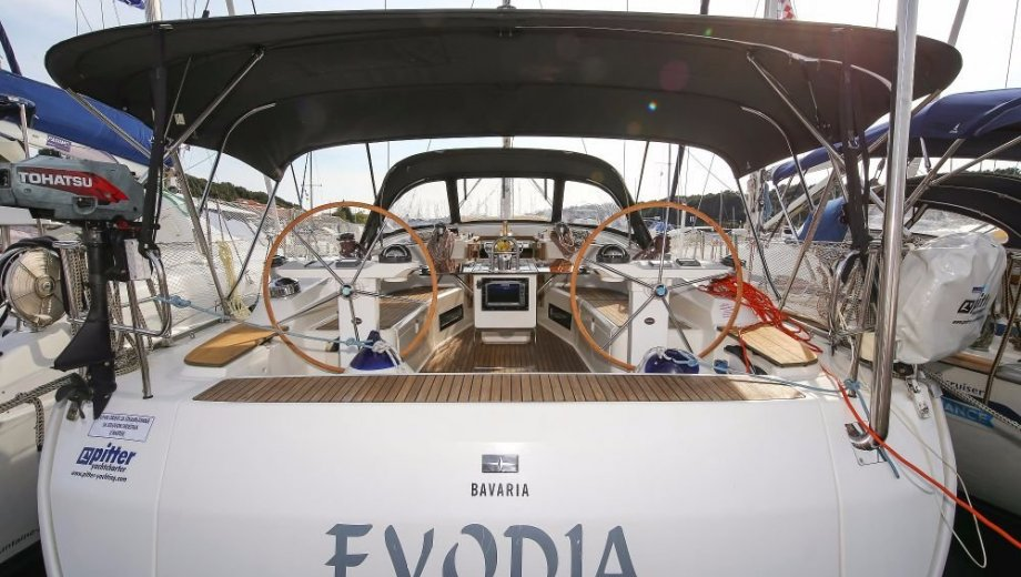 "Bavaria cruiser 45 in Pula ""Evodia"""