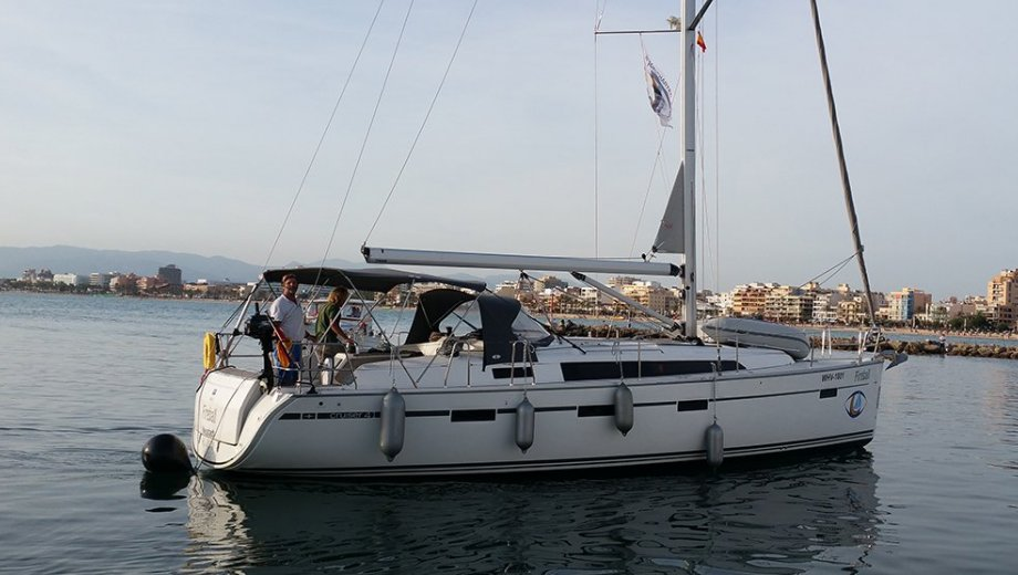 "Bavaria cruiser 41 in Palma ""Fireball"""