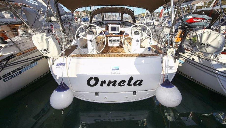 """Bavaria cruiser 40 in Pula """"Ornella"""""""