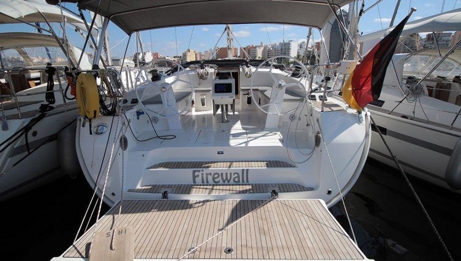 "Bavaria cruiser 51 in Palma ""Firewall"""