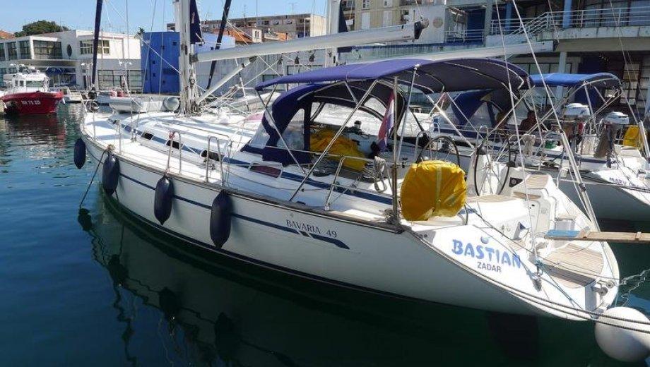 """Bavaria 49 in Zadar """"Bastian"""""""