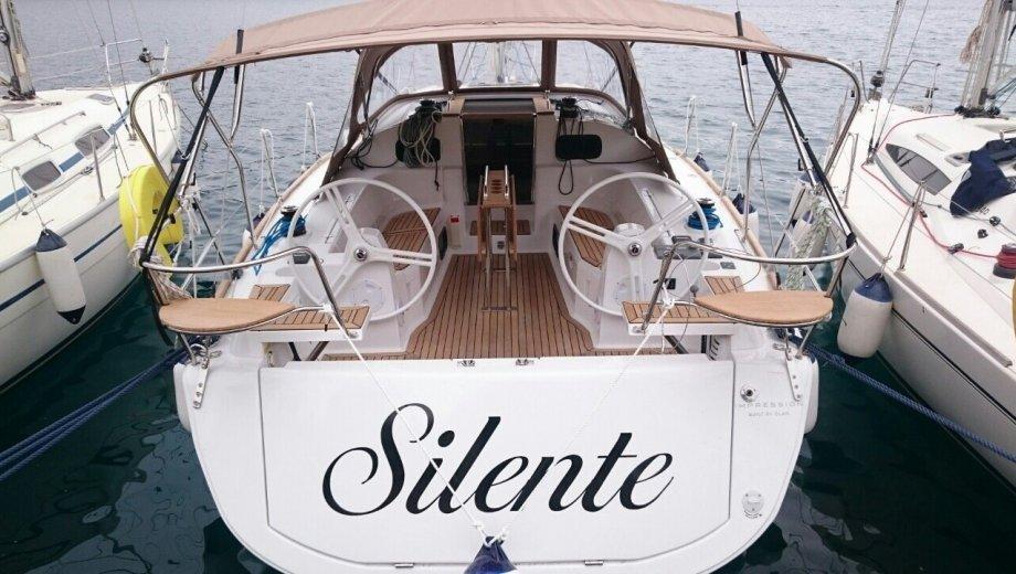 """Elan Impression 40 in Trogir """"Silente"""""""