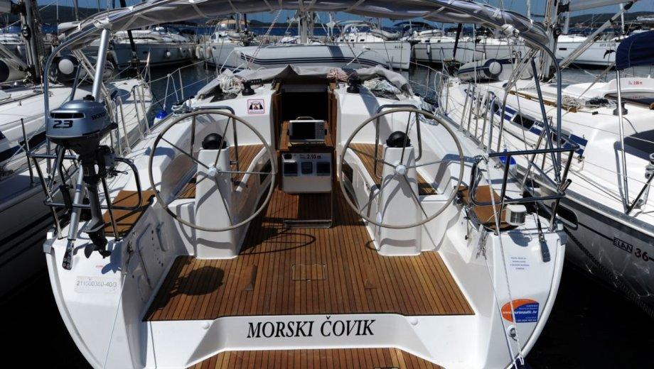 """Bavaria cruiser 40 in Biograd """"Morski covik"""""""