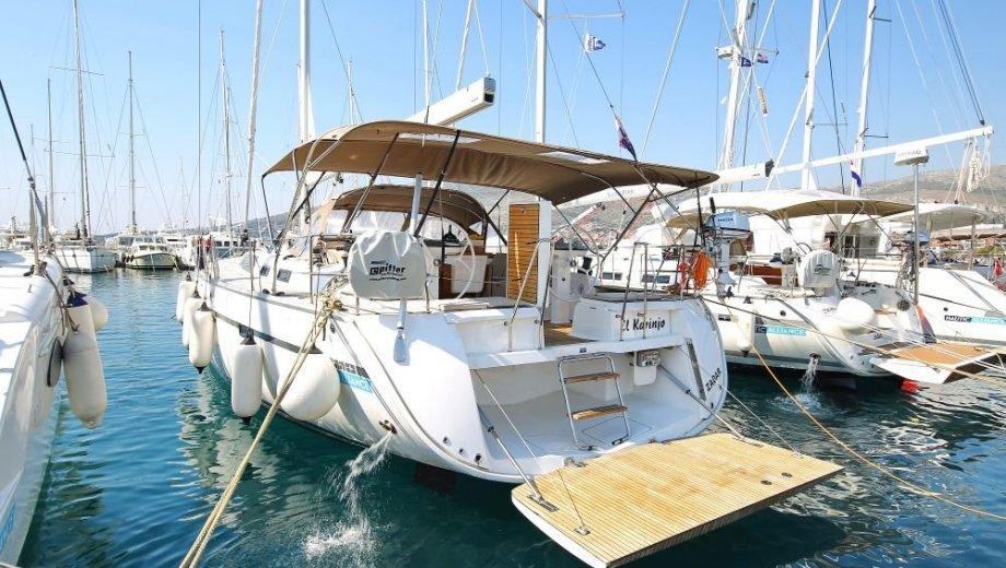 "Bavaria cruiser 56 in Trogir ""El Karinjo"""
