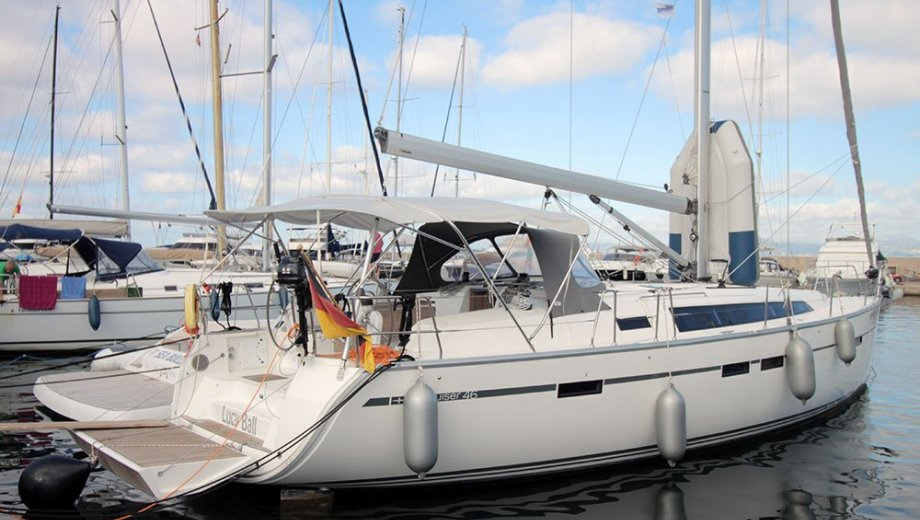 "Bavaria cruiser 46 in Palma ""Lucy Ball"""