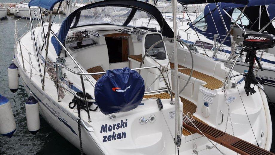 """Bavaria 37 cruiser in Biograd """"Morski zekan"""""""
