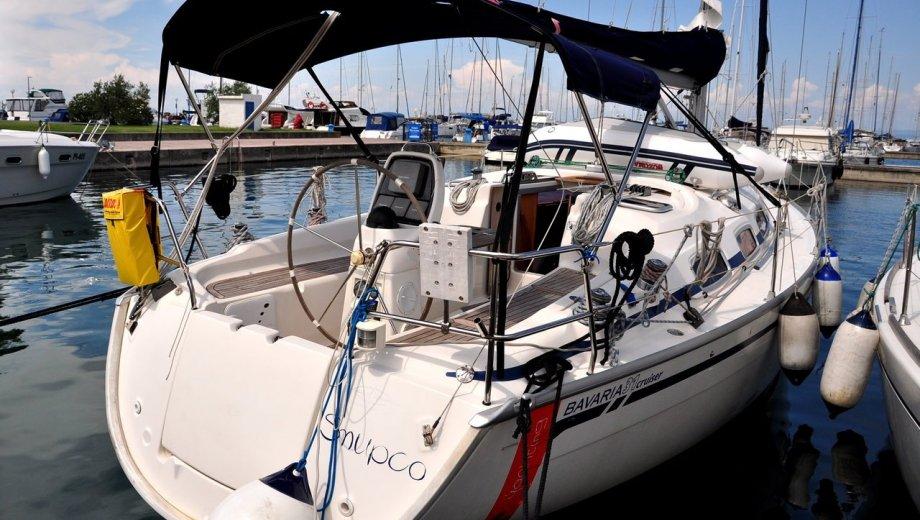"Bavaria 31 cruiser in Izola ""Snupco"""