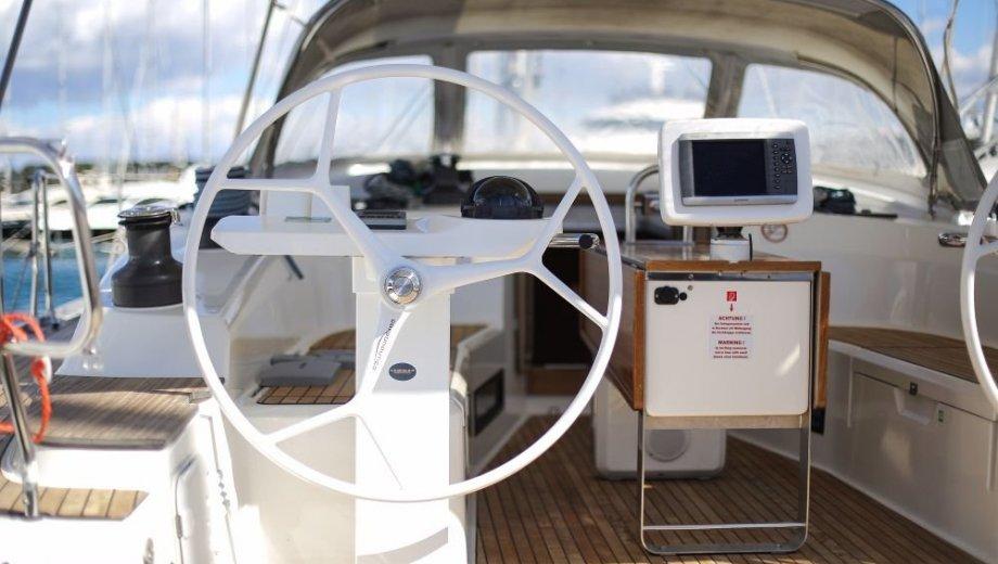 """Bavaria cruiser 50 in Biograd """"Godspeed"""""""