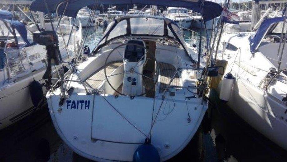 """Bavaria 35 cruiser in Pula """"Faith"""""""