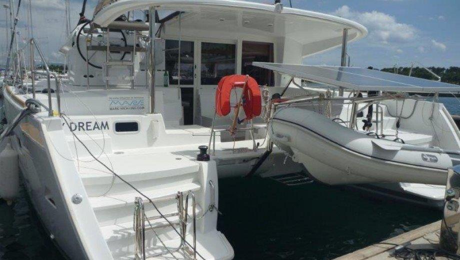 """Lagoon 400 s2 in Šibenik """"My Dream"""""""