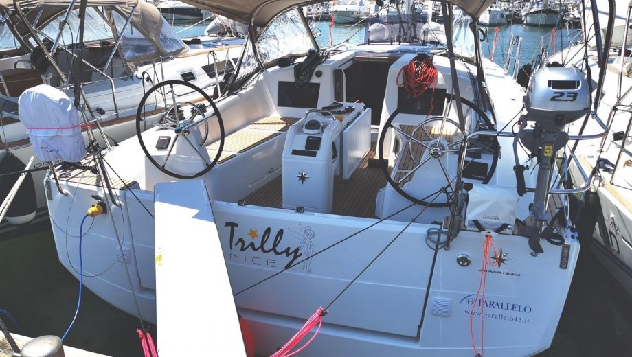"Sun Odyssey 410 in Scarlino ""Trilly"""