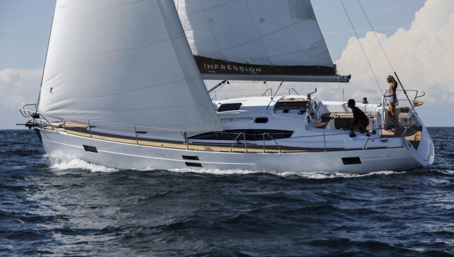 Elan Impression 45 in Izola - Werftfoto