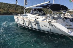"Sun Odyssey 54 DS in Portisco ""Cassiopea II"""