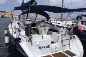 """Océanis 411 /4 in Carloforte """"Merak"""""""