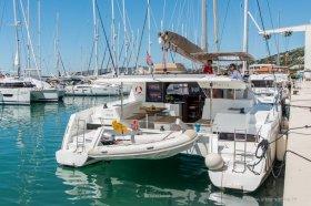 """Fountaine Pajot Helia 44 in Trogir """"HELIA - AC and generator"""""""