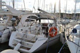 """Sun Odyssey 42 i/ 3 in Punta Ala """"Theresa"""""""