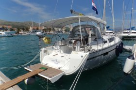 "Bavaria cruiser 37 in Trogir ""Happy Point"""