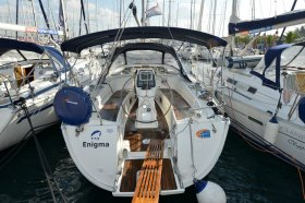 "Bavaria 38 cruiser in Biograd ""Enigma"""