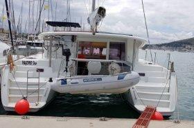 "Lagoon 400 in Lefkas ""PAGOMO star"""