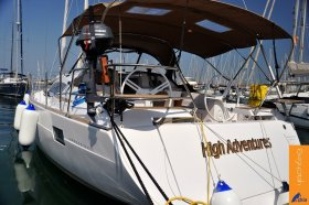 "Elan Impression 45 in Izola ""High Adventures"""
